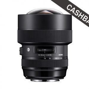 SIGMA 14-24mm F2.8 DG HSM Art Canon Cashback