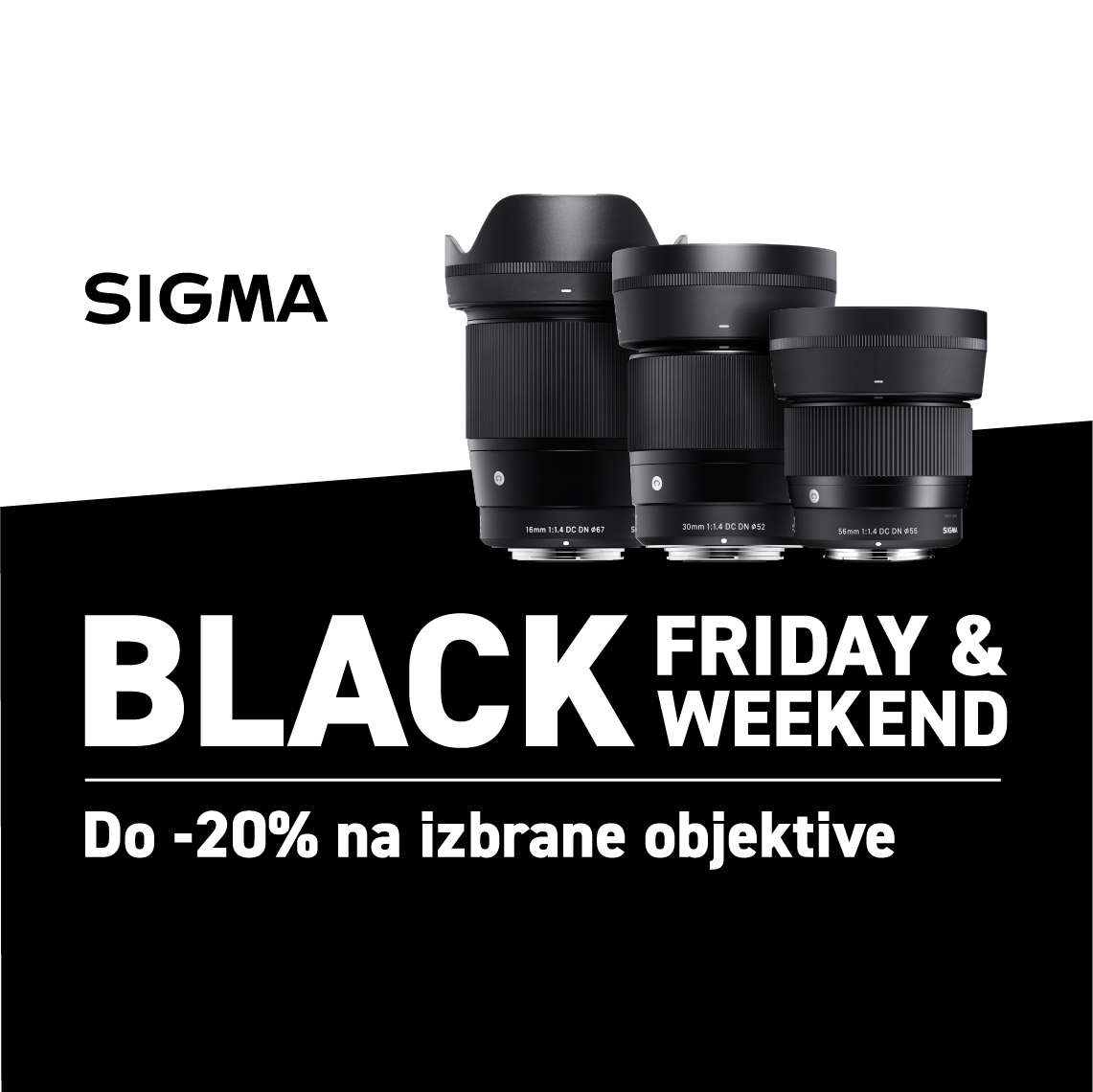 SIGMA Black Friday 2019