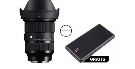 SIGMA 24-70mm F2.8 DG DN Art + powerbank
